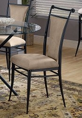 Cierra Dining Chairs in Fawn Fabric (Set of 2) - Hillsdale Furniture - 4592-804