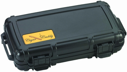 Cigar Caddy 3400 Black Travel Humidor - HUM-CC5