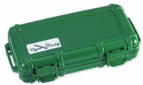 Cigar Caddy 3400 Travel Humidor in Club Green - HUM-CC5-G