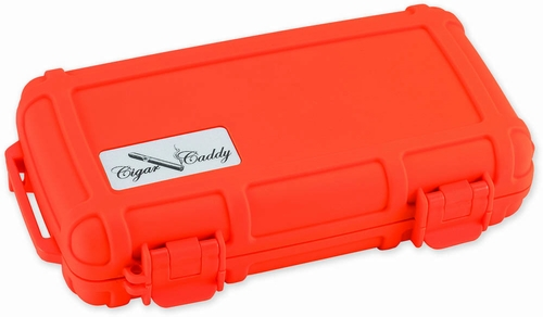 Cigar Caddy 3400 Travel Humidor in Orange - HUM-CC5-OR