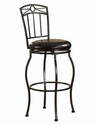 Circle Top Metal Stool 30