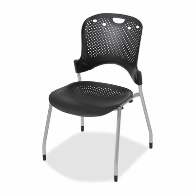 Circulation Stack Chair - Black 4 Count- BLT34554
