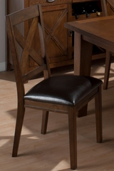 Cirrus Oak Dining Side Chair - Set of 2 - 461-826KD
