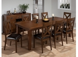 Cirrus Oak Transitional 9 Piece Dining Set - 461-96
