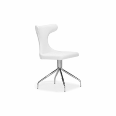 Citrus Swivel Leatherette Dining Chair - Zuo