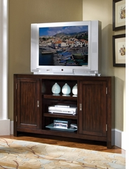 City Chic Corner Entertainment TV Stand in Espresso - Home Styles - 5536-07