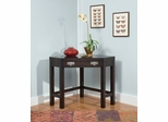 City Chic Corner Lap Top Desk / Occasional Table in Espresso - Home Styles - 5536-17