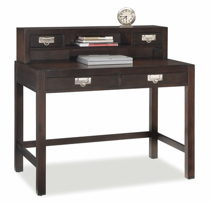 City Chic Student Desk and Hutch in Espresso - Home Styles - 5536-162