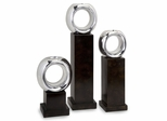 CK Ellipse Votive Holders (Set of 3) - IMAX - 1477-3
