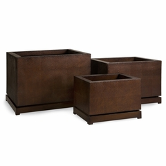 CK- Large 5th Avenue Planters (Set of 3) - IMAX - 87071-3