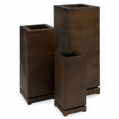 CK - Tall 5th Avenue Planters (Set of 3) - IMAX - 87067-3