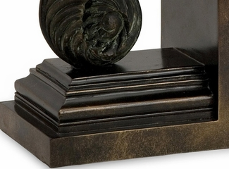 CK Van Eyck Bookends (Set of 2) - IMAX - 1484-2