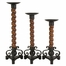 CKI Wallace Candle Holders (Set of 3) - IMAX - 47213-3