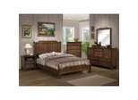 Clarin Furniture Collection in Medium Brown - Coaster