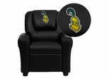 Clarkson University Golden Knights Kids Recliner - DG-ULT-KID-BK-41019-EMB-GG