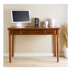 Classic Medium Mahogany Desk - Holly and Martin