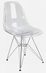 Clear Acrylic Accent Chair - CC-231
