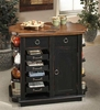 Clear Brook Kitchen Island - Entree by APA Marketing - CBK-KI42