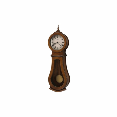 Cleo Traditional Wooden Wall Clock - Howard Miller
