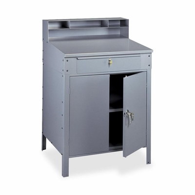 Closed Style Desk - Med. Gray - TNNSR58MGY