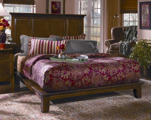 CLOSEOUT SPECIAL! - California King Size Platform Bed - Wynwood Furniture - 1878-93