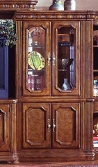 CLOSEOUT SPECIAL! - Curio Bookcase - Wynwood Furniture - 1635-109