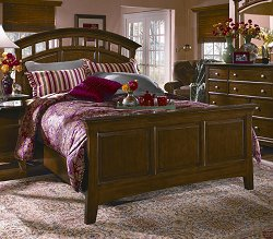 CLOSEOUT SPECIAL! - Full / Queen Size Bed - Wynwood Furniture - 1878-90