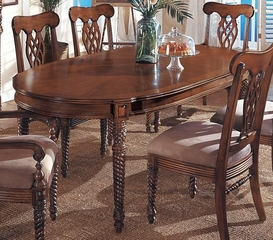 CLOSEOUT SPECIAL! - Oval Extension Table - Wynwood Furniture - 1620-34