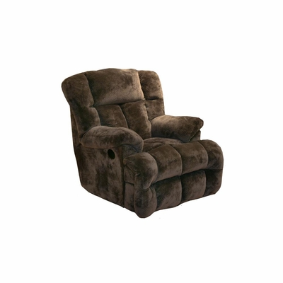 Cloud 12 Power Chaise Recliner in Chocolate - Catnapper
