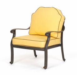 Club Chair with Seat and Back Cushions (Set of 2) - Florence - Caluco - C777-21-SET