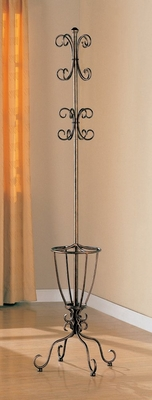 Coat Rack in Liquid Metal - Coaster