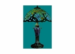 Cobweb Tiffany Table Lamp - Dale Tiffany