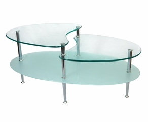 Coffee Table - 38 Inch Mariner Oval Coffee Table - C38B5