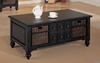 Coffee Table in Black - Coaster