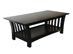 Coffee Table in Black Lacquer - 38-2066-050
