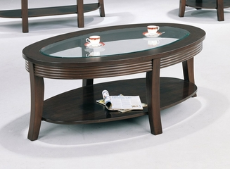 Coffee Table in Cappuccino - Coaster - COAST-155251