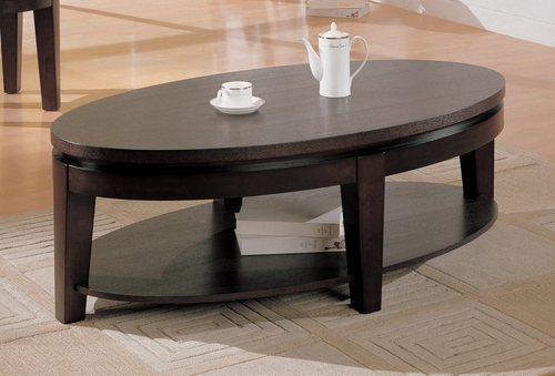 Coffee Table in Cappuccino - Coaster - COAST-17005981