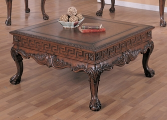 Coffee Table in Dark Brown - Coaster
