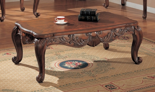 Coffee Table in Deep Brown - Coaster
