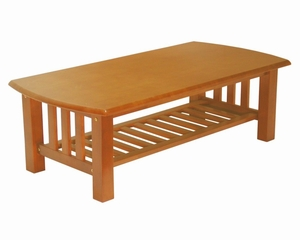 Coffee Table in Honey Oak - Mission - 38-2044-010