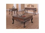 Coffee Table Set in Dark Brown - Coaster