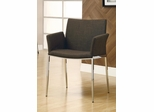 Coffee Upholstered Dining Chair - Set of 2 - 120721