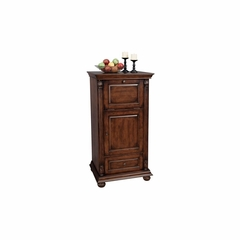 Cognac Distressed Wine and Bar Cabinet - Howard Miller