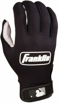 COLD WEATHER PRO Batting Glove Pearl / Black - Franklin Sports