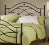 Cole Full/Queen Size Headboard with Frame in Black Twinkle - Hillsdale Furniture - 1601HFQR
