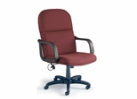 Comfort Big and Tall Executive Chair in Burgundy - Mayline Office Furniture - 1801AG2112