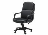 Comfort Big and Tall Executive Leather Chair - Mayline Office Furniture - 1801AGBLT