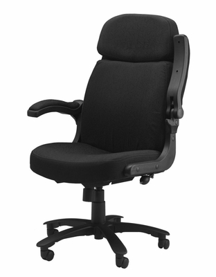 Comfort Big and Tall Pivot Arm Chair in Gray - Mayline Office Furniture - 6446AG2110