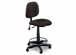 Comfort Swivel Task Stool in Gray - Mayline Office Furniture - 4005AG2110
