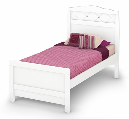 Complete Twin Size Bed - Tiara - South Shore Furniture - 3650A3